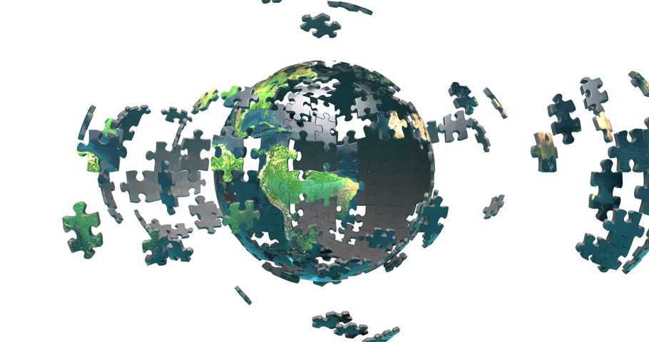 Image result for world globe puzzle