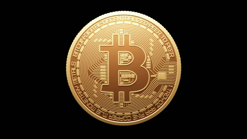 Rotate Bitcoin Gold Coin and Stock Footage Video (100% Royalty-free)  34989328 | Shutterstock