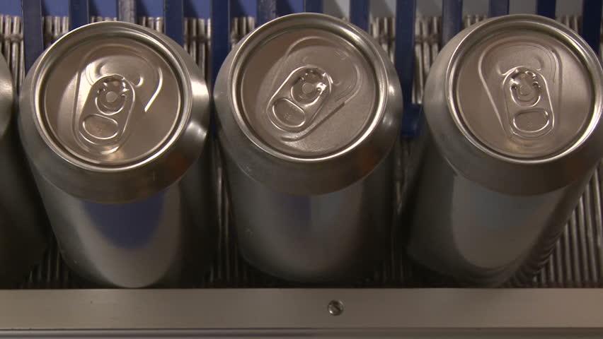 Aluminum Cans, Industry, factory | Shutterstock HD Video #3511328