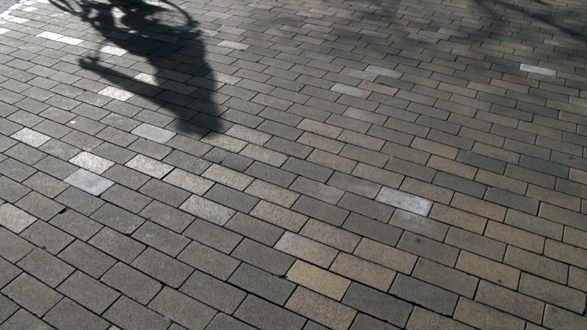 Bike shadows in Holland