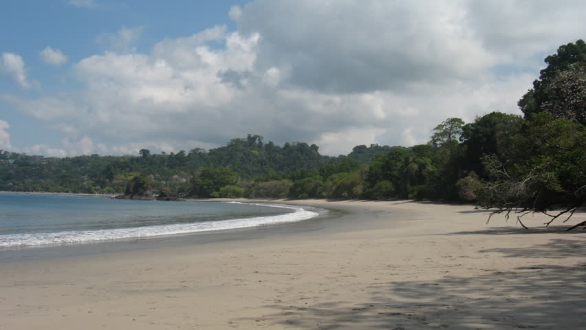 Manuel Antonio Beach Costa Rica 6 Timeplapse. Manuel Antonio National Park beach in Costa Rica. Shot in time-lapse.
