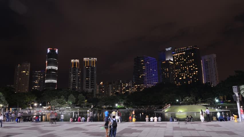 cityscape of kuala lamper