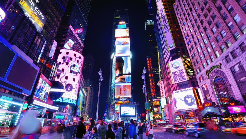 One Times Square Stock Video Footage 4k And Hd Clips Shutterstock
