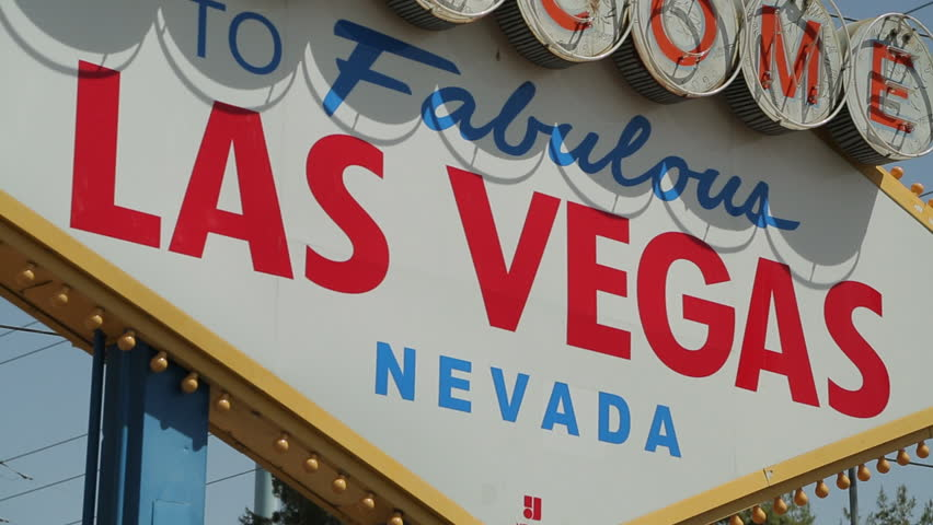 Welcome to Las Vegas sign | Shutterstock HD Video #3791018