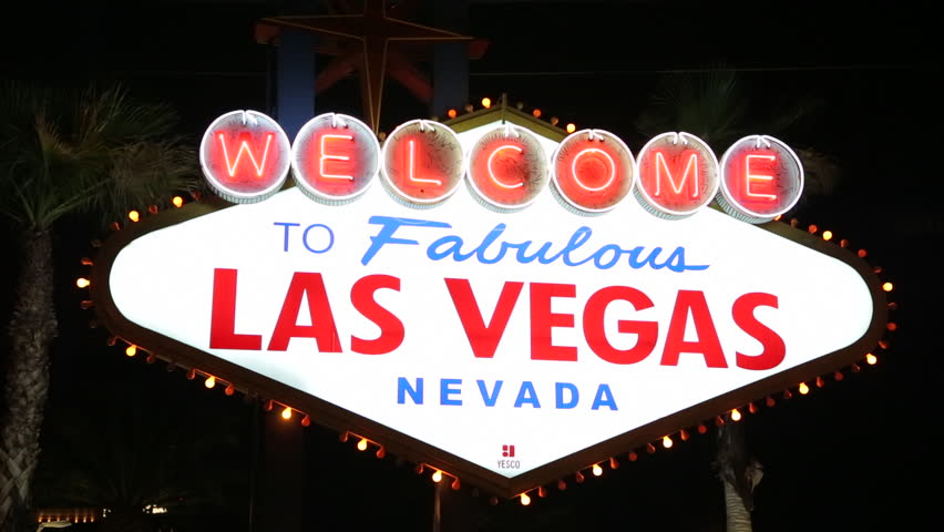 Welcome to Las Vegas sign | Shutterstock HD Video #3791108