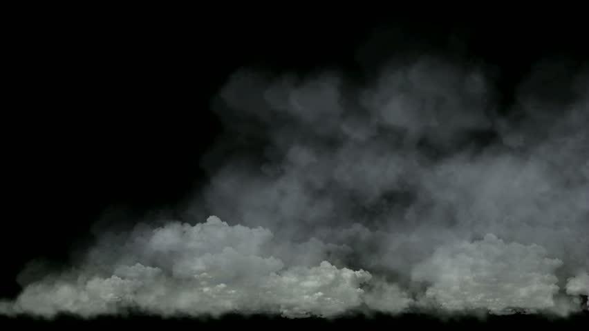 Animated dark clouds