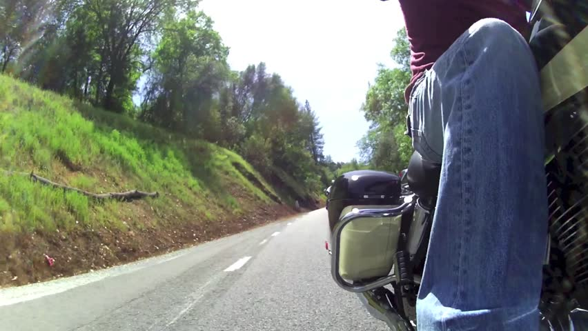 REAR POINT OF VIEW ON STREET MOTORCYCLE GROUP / CLUB / FRIENDS / GANG POINT OF VIEW POV RIDING CHOPPERS / CRUISERS / STREET BIKES ON BEAUTIFUL WINDING COUNTRY ROAD  HD 1080 HIGH DEFINITION 1920X1080