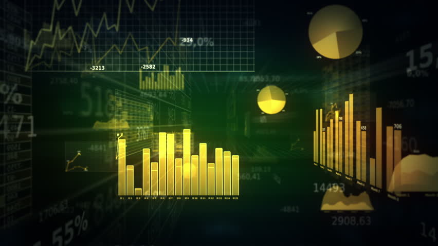 Financial figures and diagrams showing increasing profits. Loopable. Dolly in. Green. SEE MORE COLOR OPTIONS IN MY PORTFOLIO.   Shutterstock HD Video #3823796