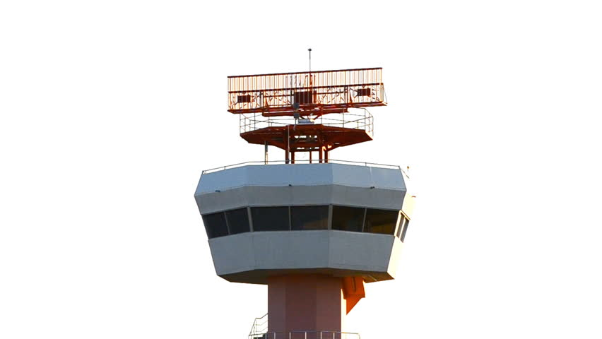 radar communications tower plane