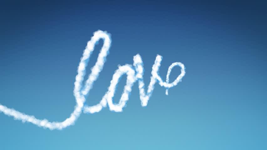Cloud Text Love