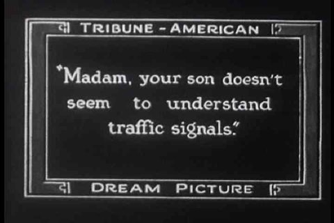 1920s - A silent film depicts a woman misplacing her baby and features some nice footage of Oakland, California in 1924.