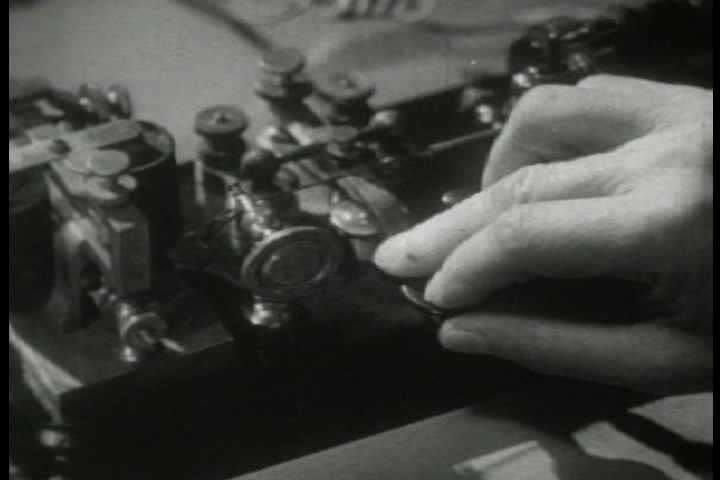 1940s - Archival film describing the impact of the telegraph on the American West.
