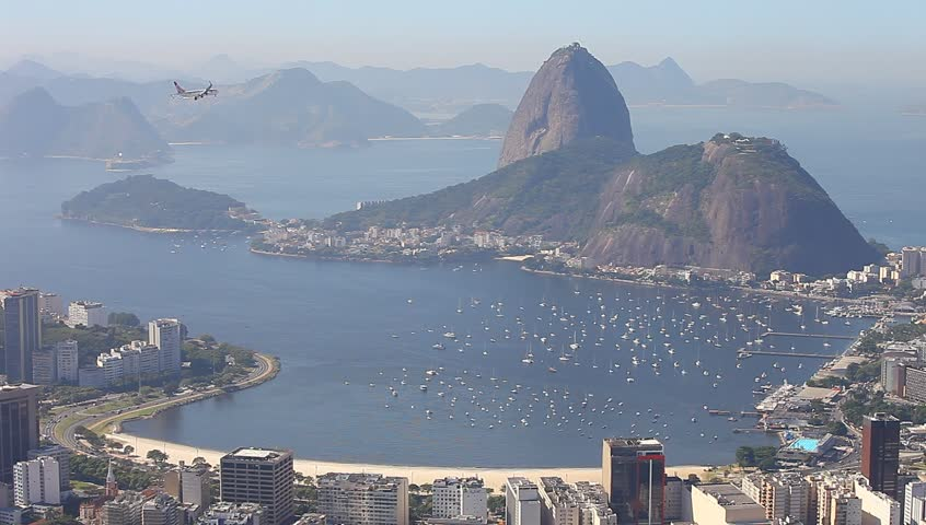 Sugar loaf mountain Rio de Janeiro Brazil  | Shutterstock HD Video #3940898