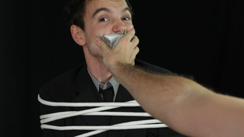 Men tied up videos