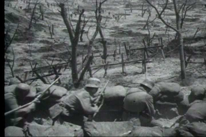 1960s - World War One begins and the American soldier is there to fight.