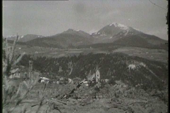 1940s - American bombers attack German oil refineries in World War II.
