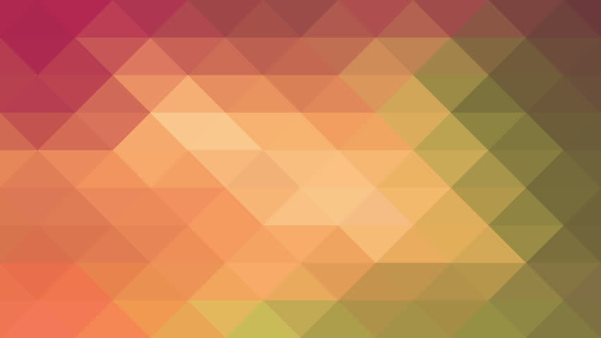 Triangles Hipster Animation, Retro Pattern Of Geometric Shapes ...