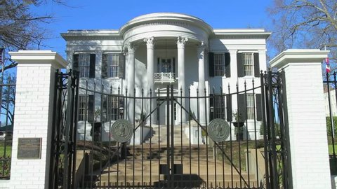 Jackson, Mississippi - February, 2013 - Mississippi Governor's Mansion.