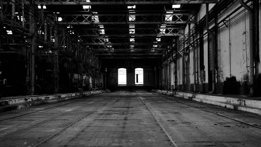Old Industry Hall Stock Footage Video 3573938 Shutterstock