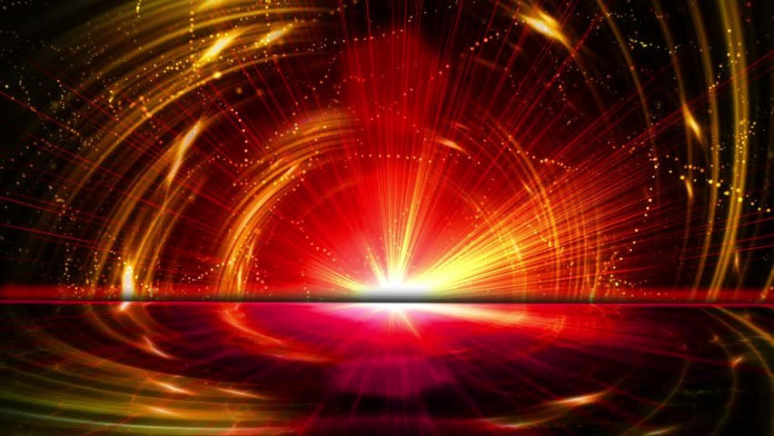 Animation. Abstract fantasy background, seamless loopable. #4390778
