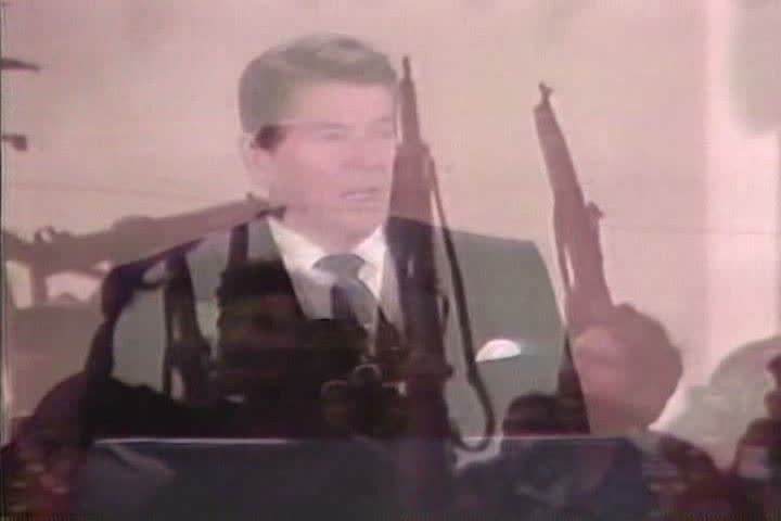 1980s - Ronald Reagan speaks about the growing threat of Communism in Central America during the 1980s.