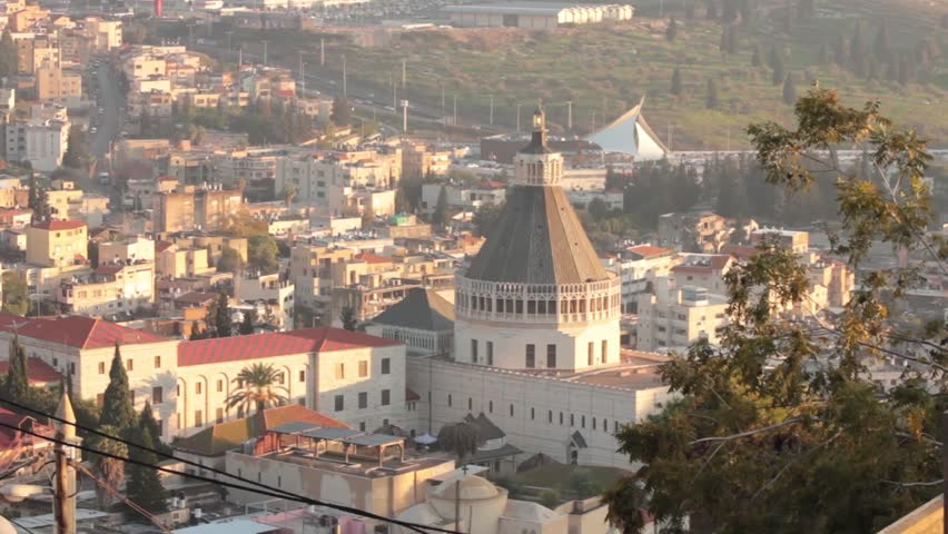 Nazareth, Israel | Shutterstock HD Video #4408598