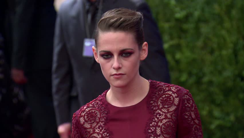 NEW YORK - May 6, 2013: Kristen Stewart at the The Costume Institute Gala 2013 in the The Metropolitan Museum of Art in New York May 6, 2013