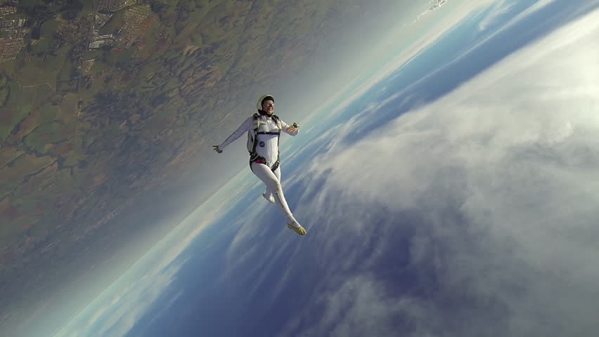 Skydiver woman freestyle #4442528