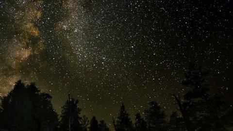 Perseid Meteor Shower Bristlecone Pine 10 Milky Way Time Lapse
