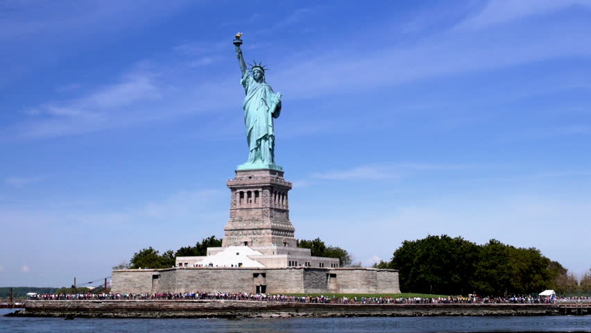 Statue Of Liberty Stock Footage Video