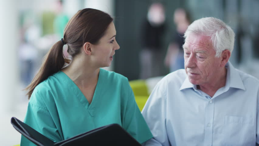 Assisting people when life throws unexpected obstacles in your way. A hospital ward or waiting area where patients can by seen by doctors and nursing staff.