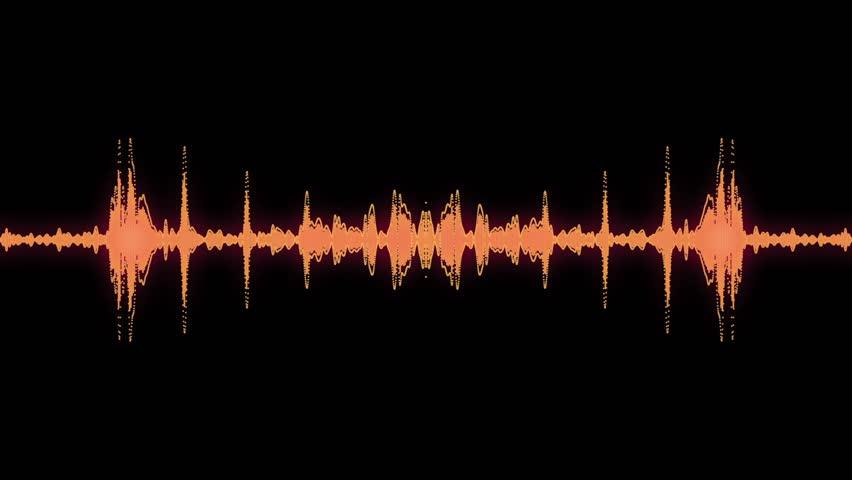 Audio specturm rainbow colour #4515938