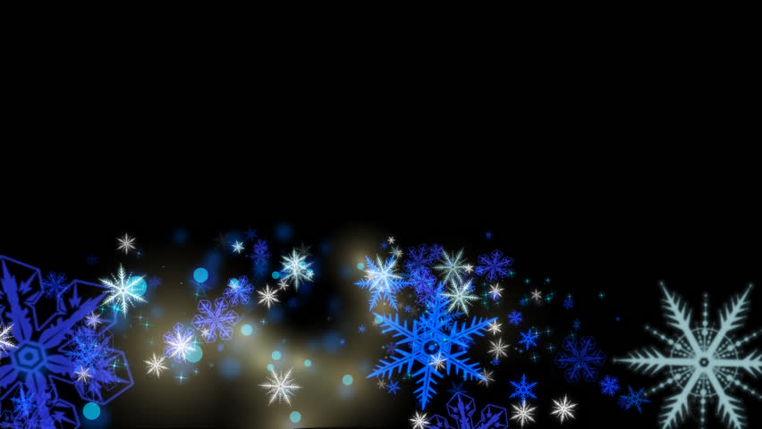 Snowflakes animation with alpha channel | Shutterstock HD Video #4531388