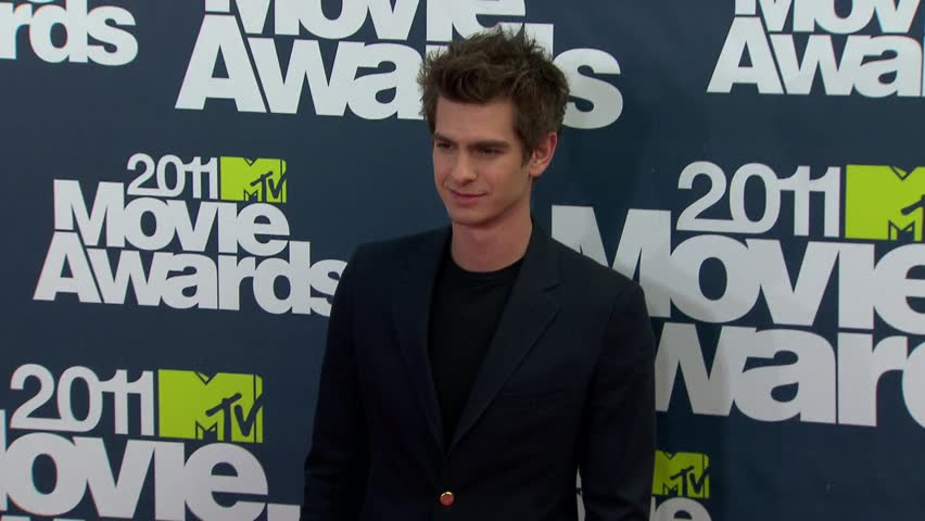 UNIVERSAL CITY - June 5, 2011: Andrew Garfield at the MTV Movie Awards 2011 in the Gibson Amphitheatre in Universal City June 5, 2011 #4543238