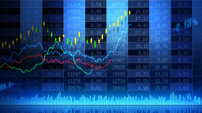 Stock market trend of animation. | Shutterstock HD Video #4548128