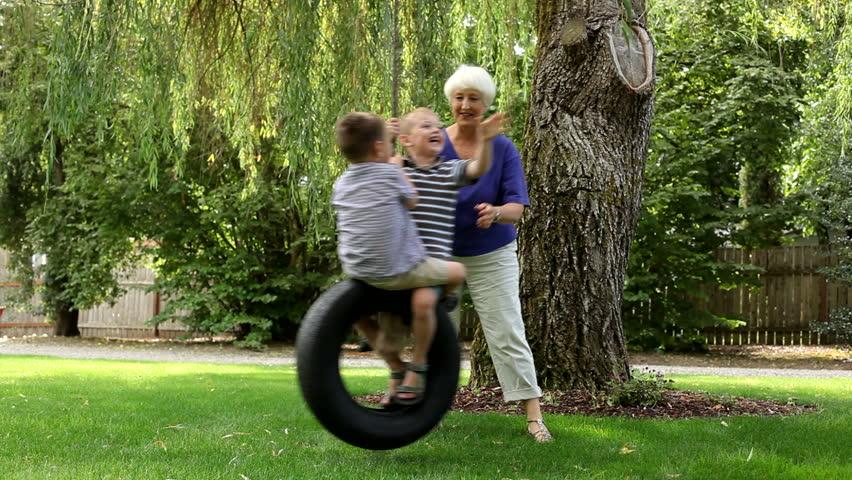 Lady D Swinging Grandma