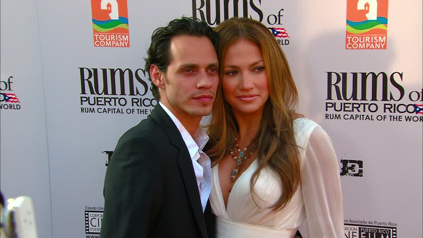 LOS ANGELES - July 31, 2007: Jennifer Lopez and Marc Anthony at the El Cantante Premiere in the DGA Theatre in Los Angeles July 31, 2007