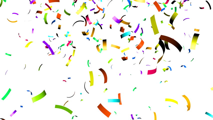 Animation of Colorful Confetti Falling Stock Footage Video (100%  Royalty-free) 4567178 | Shutterstock