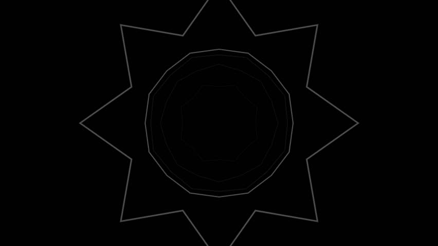 Kaleidoscope with lines