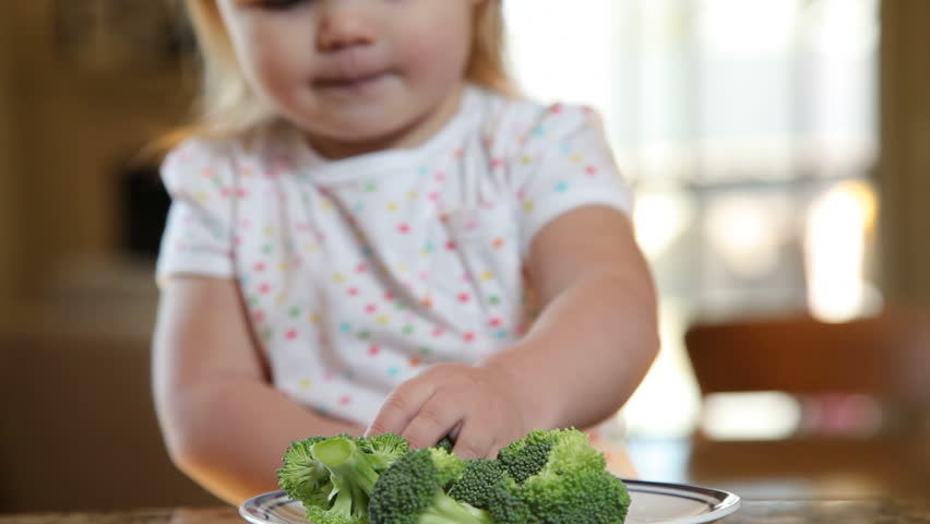 Header of broccoli