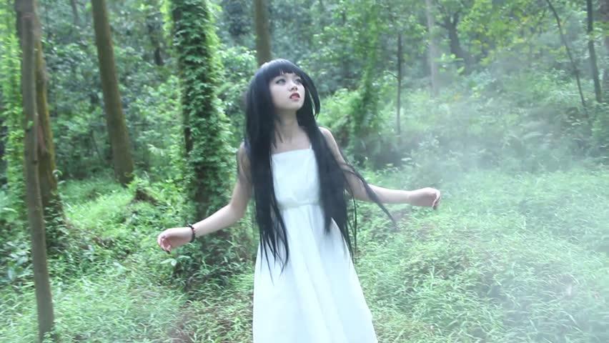 Asian Girl Walking In Fog Stock Footage Video 100 Royalty-Free 4651748  Shutterstock-9222