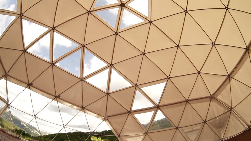 Geodesic dome | Shutterstock HD Video #4705160