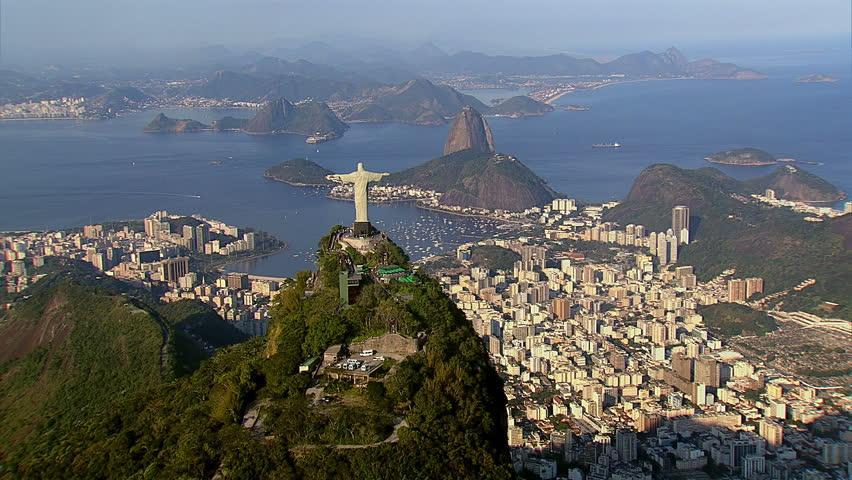 Cineflex aerial shot of Rio de Janeiro, Brazil   Shutterstock HD Video #4759181