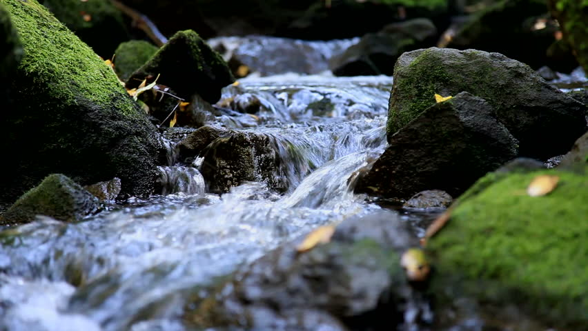 Mountain stream in Oslo, Norway