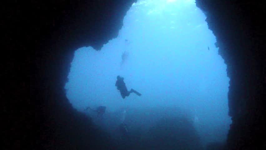 Cave Dive | Shutterstock HD Video #4825328