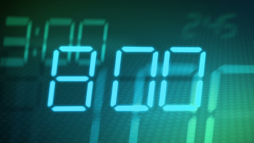Accelerated digital clock abstract background | Shutterstock HD Video #4850393