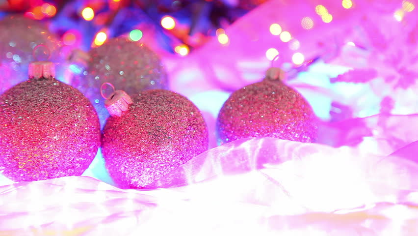 Magic Christmas Backgrounds Lights Stock Footage Video 4874858 ...