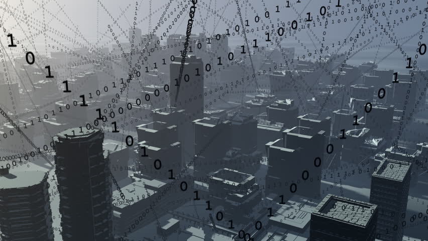 City full of data.