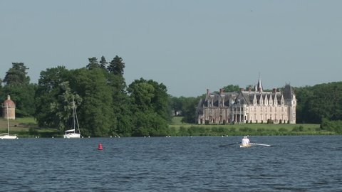 A French Chateaux on the Loire near Nantes