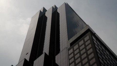 New York, NY - July 2013 - Manhattan exterior office building midtown.
